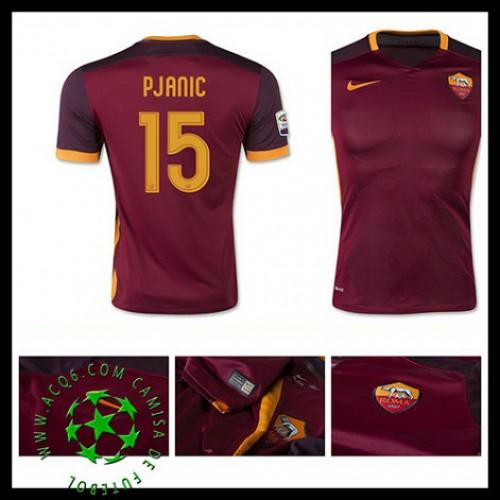 712a66986d120 Camisas Futebol As Roma (15 Pjanic) 2015-2016 I Masculina ...