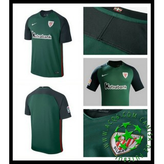 Uniforme De Futebol Athletic Bilbao 2016-2017 Ii Masculina