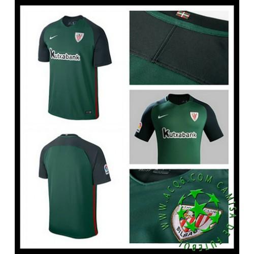 Uniforme De Futebol Athletic Bilbao 2016-2017 Ii Masculina ... 5d479f9783a8f