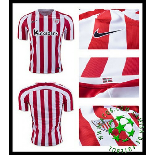 Uniforme Futebol Athletic Bilbao 2016 2017 I Masculina - camisolas ... 4db6fa1eff682