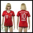 Bayern München Camisa Robben 2015-2016 I Feminina