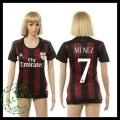 Ac Milan Camisas De Futebol Menez 2015/2016 I Feminina