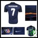Camisetas Atlético De Madrid (7 Griezmann) 2015/2016 Ii Masculina