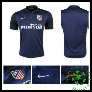 Camisa De Futebol Atlético De Madrid 2015/2016 Ii Masculina