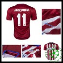 Camisa De Futebol Atlético De Madrid (11 Jackson M.) 2015 2016 I Masculina