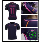 Uniformes De Futebol Barcelona Neymar Jr 2016 2017 Ii Masculina
