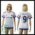 Chelsea Camisa De Futebol Falcao 2015 2016 Ii Feminina