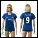 Chelsea Camisa Futebol Falcao 2015-2016 I Feminina