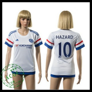 Chelsea Camisas Futebol Hazard 2015/2016 Ii Feminina