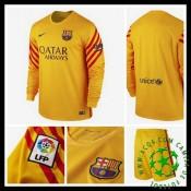 Camisetas Barcelona Manga Longa 2015-2016 Ii Goleiro