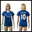 Chelsea Camisas Du Futebol Hazard 2015 2016 I Feminina