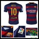 Camisas Du Futebol Barcelona (10 Messi) 2015/2016 I Masculina
