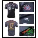 Uniforme De Futebol Bayern Munich Boateng 2016 2017 Ii Masculina