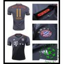 Uniformes De Futebol Bayern Munich Costa 2016-2017 Ii Masculina