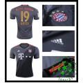 Uniforme De Futebol Bayern Munich Gotze 2016/2017 Ii Masculina