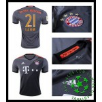 Uniforme Futebol Bayern Munich Lahm 2016 2017 Ii Masculina