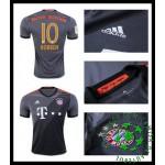 Uniformes De Futebol Bayern Munich Robben 2016 2017 Ii Masculina