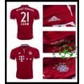 Camisa Futebol Bayern Munich Lahm 2016 2017 I Masculina