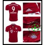 Camisas De Futebol Bayern Munich Lewandowski 2016/2017 I Masculina