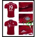 Camisas De Futebol Bayern Munich Gotze 2016 2017 I Masculina