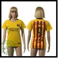 Barcelona Camisa Suarez 2015-2016 Ii Feminina
