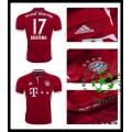 Uniforme De Futebol Bayern Munich Boateng 2016-2017 I Masculina