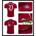 Camisa Futebol Bayern Munich Vidal 2016 2017 I Masculina