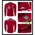 Camisas Futebol Bayern Munich Manga Longa 2016/2017 I Masculina