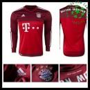 Camisas Bayern München Manga Longa 2015 2016 Ii Goleiro