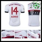 Camisetas Bayern München (3 Alonso) 2015 2016 Ii Masculina