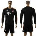 Bayern München Camisa Futebol Manga Longa 2015-2016 Iii Masculina