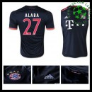 Camisas Bayern München (27 Alaba) 2015-2016 Iii Masculina