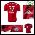 Camisa Du Futebol Bayern München (37 Green) 2015/2016 I Masculina