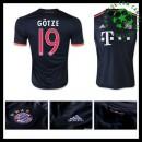 Camisas Futebol Bayern München (19 Gotze) 2015 2016 Iii Masculina