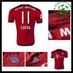 Camisa Bayern München (11 Costa) 2015/2016 I Masculina
