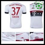 Camisas Du Futebol Bayern München (37 Green) 2015-2016 Ii Masculina
