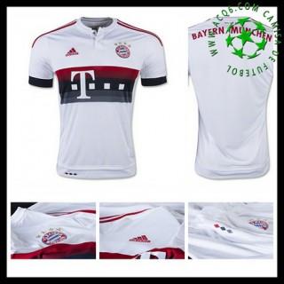 Camisa Futebol Bayern München 2015/2016 Ii Masculina