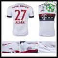 Camisas De Futebol Bayern München (27 Alaba) 2015/2016 Ii Masculina