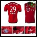 Camisas De Futebol Bayern München (29 Coman) 2015/2016 I Masculina