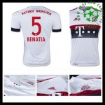 Camisas Du Futebol Bayern München (5 Benatia) 2015-2016 Ii Masculina