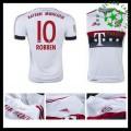 Camisas Futebol Bayern München (10 Robben) 2015/2016 Ii Masculina