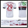 Camisas Futebol Bayern München (29 Coman) 2015-2016 Ii Masculina