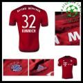 Camisas Futebol Bayern München (32 Kimmich) 2015 2016 I Masculina