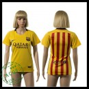 Barcelona Camisas Futebol 2015-2016 Ii Feminina