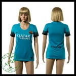 Barcelona Camisa De Futebol 2015 2016 Iii Feminina