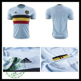 Camisas De Futebol Bélgica Autêntico Ii Euro 2016 Masculina