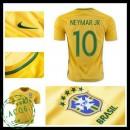 Camisa Futebol Brasil Neymar Jr 2016 2017 I Masculina
