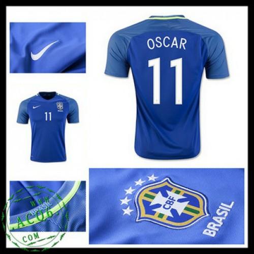 fa5aba6aa0 Camisas Futebol Brasil Oscar 2016-2017 Ii Masculina - camisolas de ...