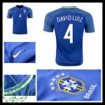 Camisa Futebol Brasil David Luiz 2016/2017 Ii Masculina