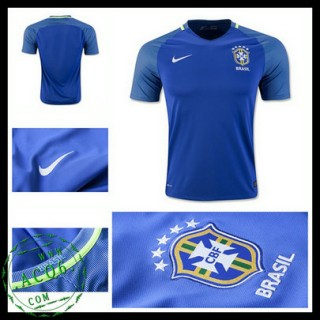 Camisa Brasil 2016 2017 Ii Masculina